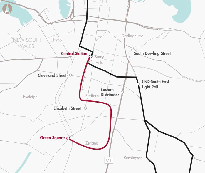 Southern Sydney to CBD public transport enhancement