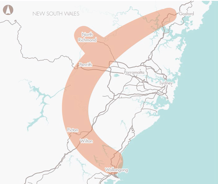Preserve corridor for Outer Sydney Orbital road and rail_M9, and Castlereagh Connection