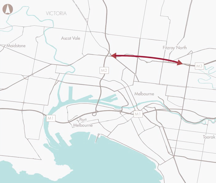 Improve the connection between the Eastern Freeway and CityLink