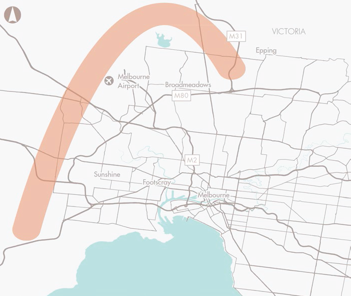 Preserve corridor for Melbourne Outer Metropolitan Ring Road_E6