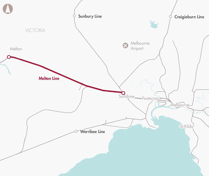 Melton Rail Line upgrade