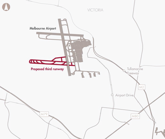 Melbourne Airport third runway