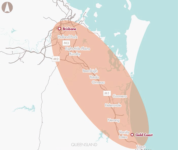 Brisbane to Gold Coast transport corridor upgrades