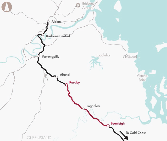 85_Gold Coast Rail Line capacity improvement (Kuraby to Beenleigh)