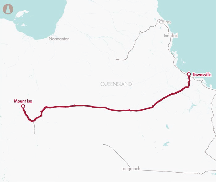 Mount Isa–Townsville rail corridor upgrade