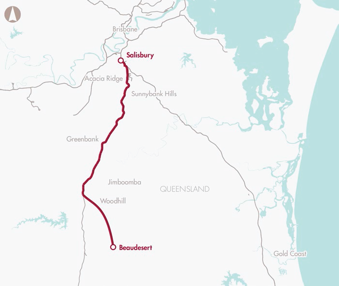 Preserve corridor for Salisbury to Beaudesert rail connection